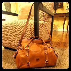 Dooney Bourke handbags leather.